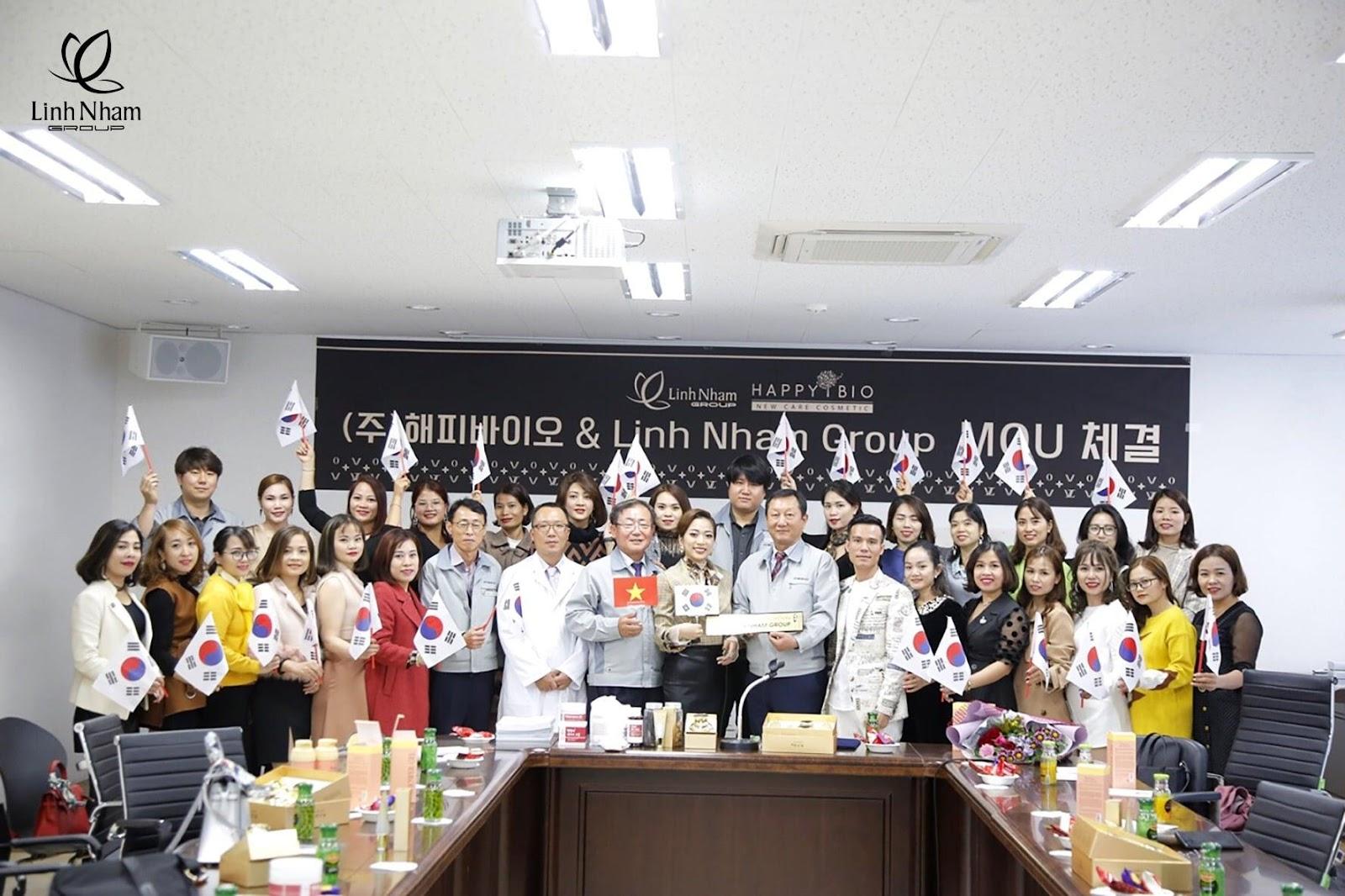 Linh Nham Group ký kết hợp tác với Viện thẩm mỹ quốc tế Han Beauty - Ảnh 4
