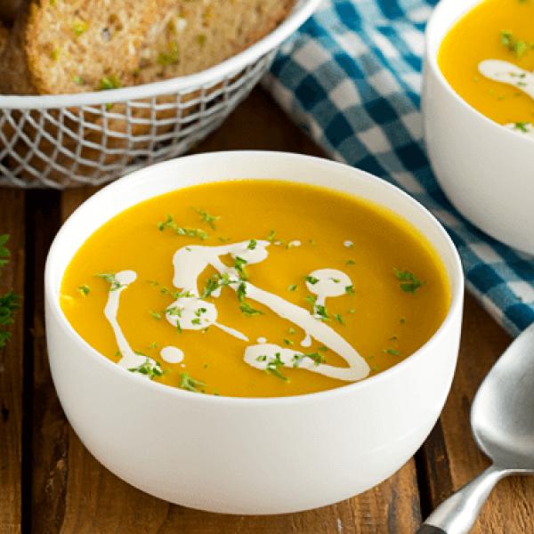 creamy soup dishes pumpkin soup