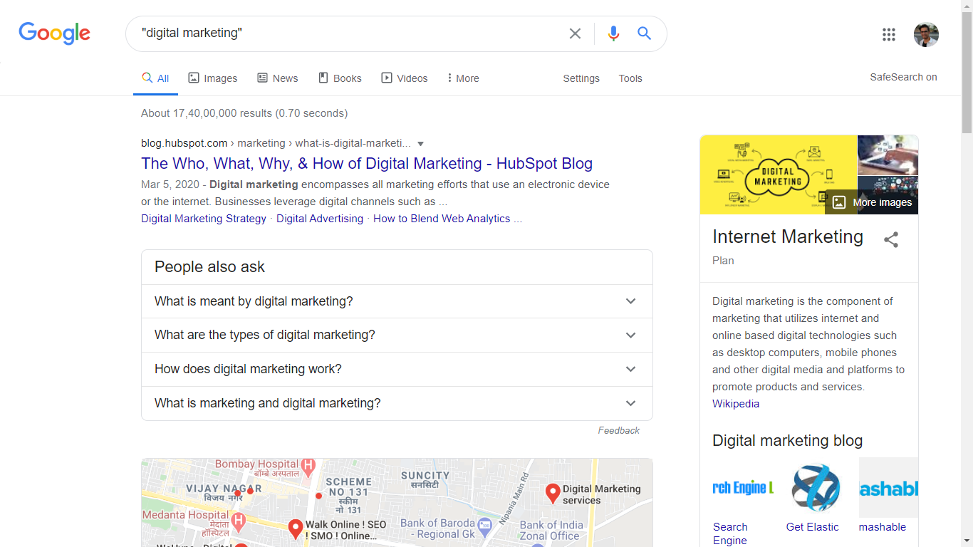 google exact search trick