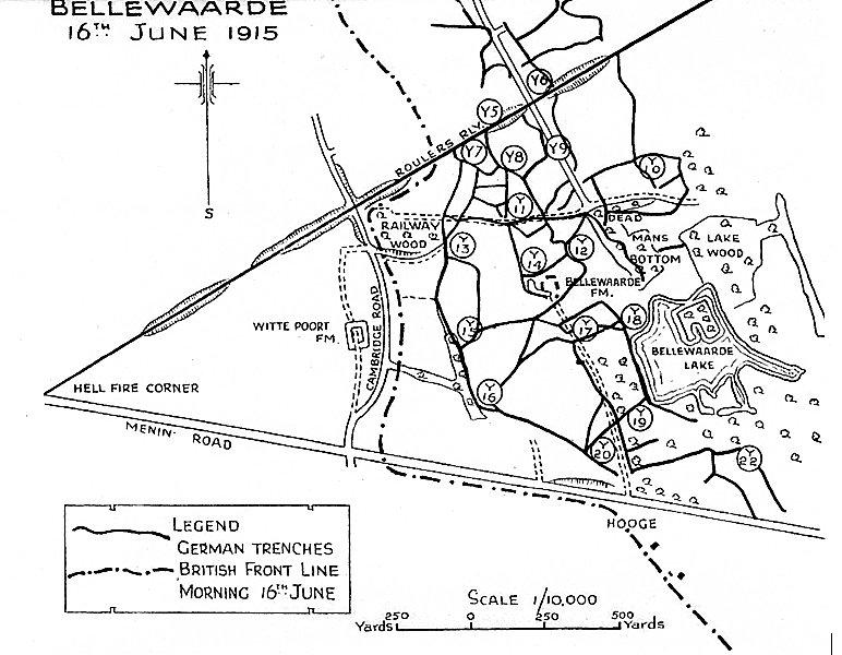 Map By Brigadier Sandilands
