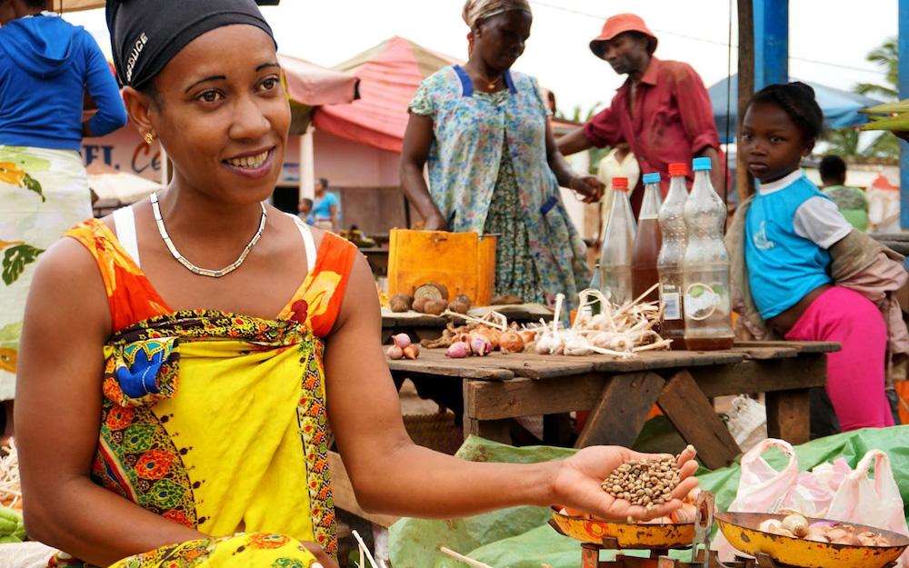 coffee vendor in madagascar