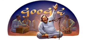 Nusrat Fateh Ali Khan Tribute by Google