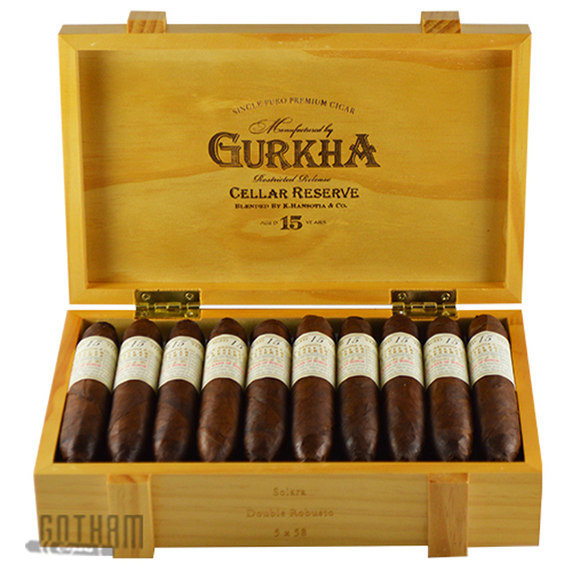 Gurkha Cellar Reserve 15 Year Solara