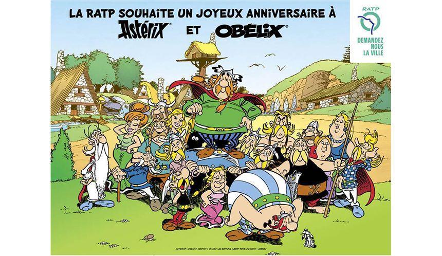 L'anniversaire d'Astérix et Obélix dans le métro - Aucun(e)