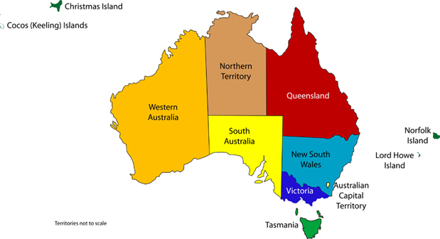 Image result for australia states