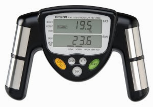 omron body fat measure get back in shape