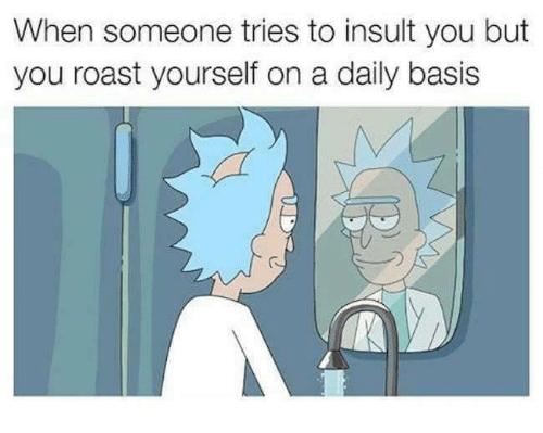 self deprecating comedy