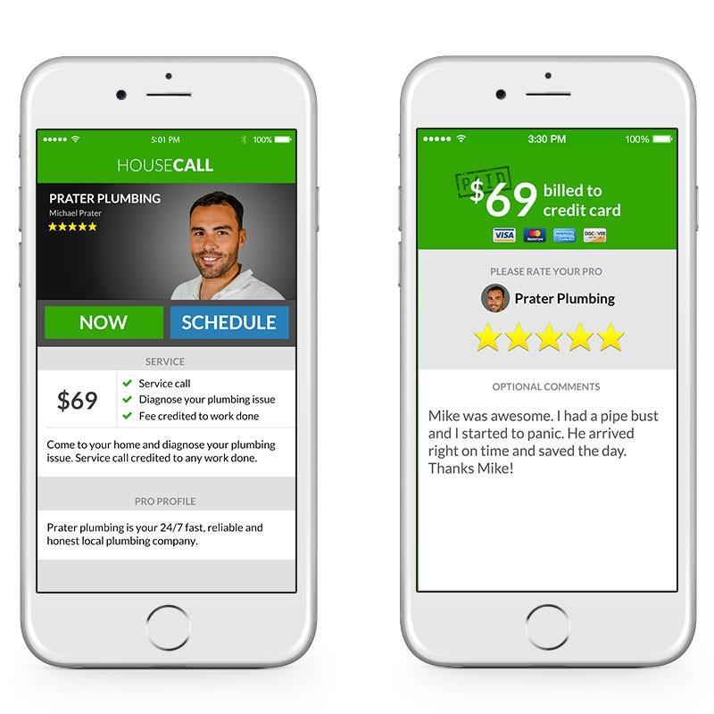 HouseCall mobile app
