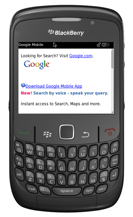 Synch BlackBerry - TCAPPS New