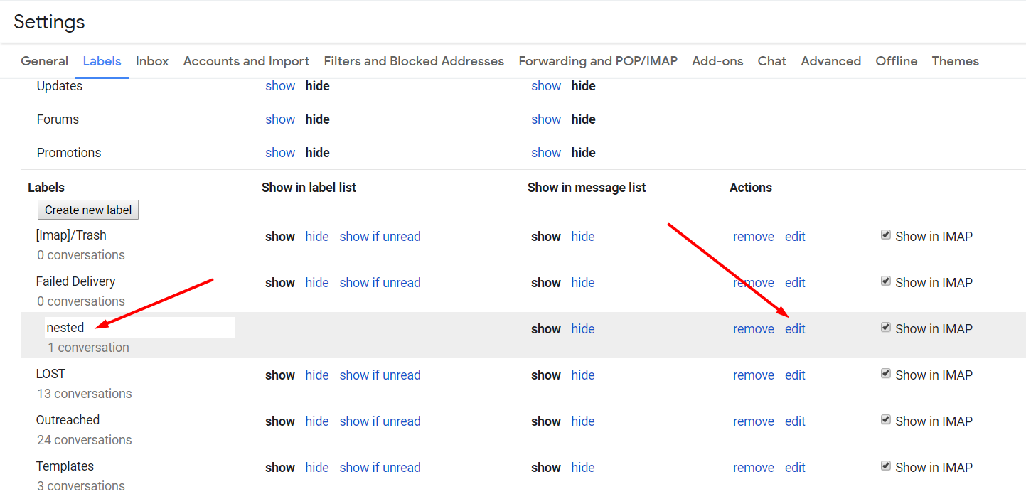 How to Create Gmail Labels and Drastically Improve Productivity - edit labels - autoklose.com