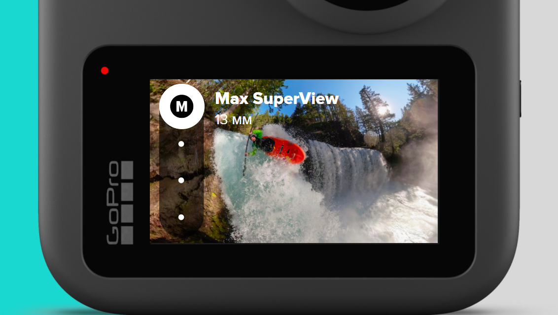 Цифровые объективы экшн-камеры GoPro Max (CHDHZ-201-RW)