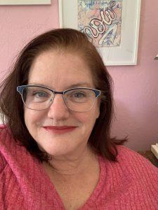 Portrait of creative life coach and creative life midwife Julie JordanScott