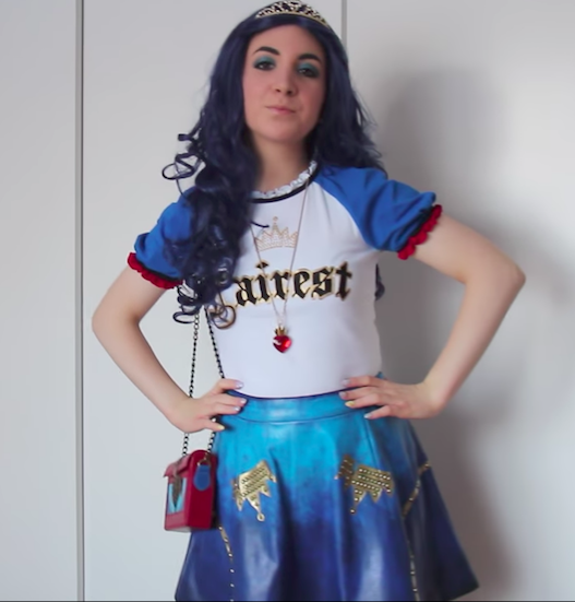 9 diy ideas for descendants inspired costumes evies skirt solutioingenieria Image collections
