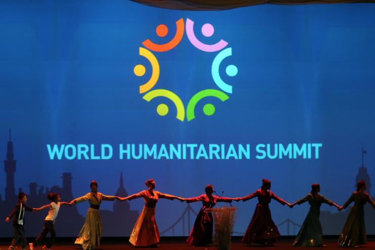 World summit of humanitarian