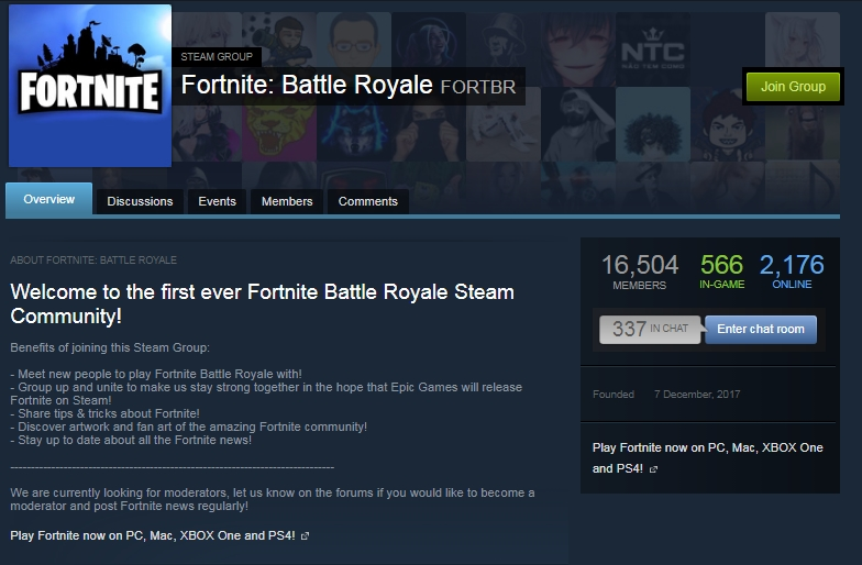 How to download and install Fortnite from Steam
