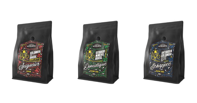 4 cyclists coffee