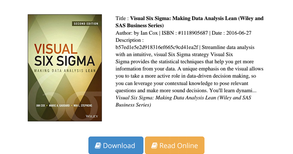 final literature review six sigma Comments off on literature review on six sigma six sigma is one of the most successful management frameworks that evolves from a focus on a process management improvement using statistical tools to a comprehensive framework for managing a business (arthur, 2009.