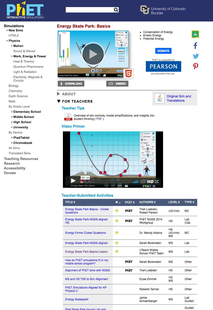 PhET ESP: discovery document - Fluid - Fluid Project Wiki