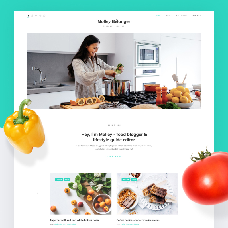 PSD to WordPress Conversion Service Best Food Delivery Themes for WordPress