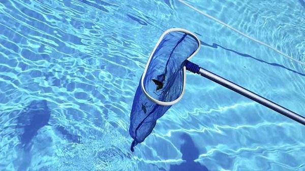Kết quả hình ảnh cho dọn rác bể bơi