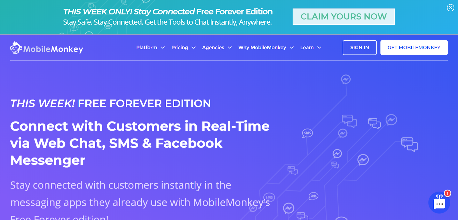 email marketing tools MobileMonkey