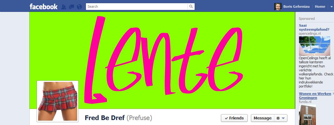 Een nieuwe lente, een nieuwe Facebook Page. Volg de webinar!