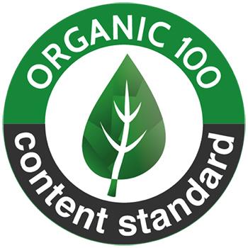 logo organic 100