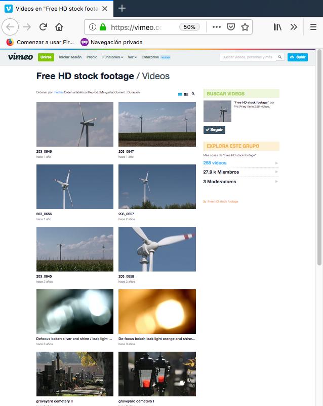bancos de videos gratuitos vimeo