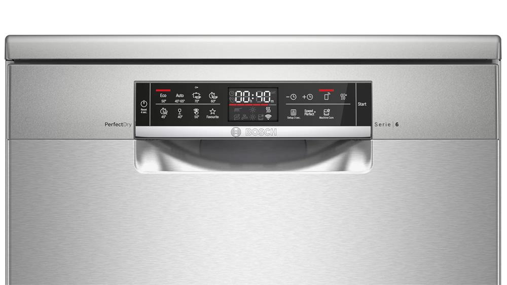 Bảng điều khiển cảm ứng máy rửa bát Bosch SMS6ZCI48E