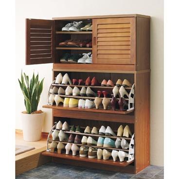 tủ giày không nên quá cao ⅓ chiều cao của nhà