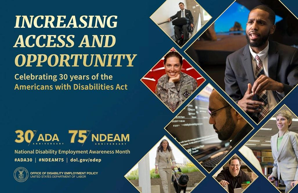 Increasing Access and Opportunity, 75th Anniversary of NDEAM