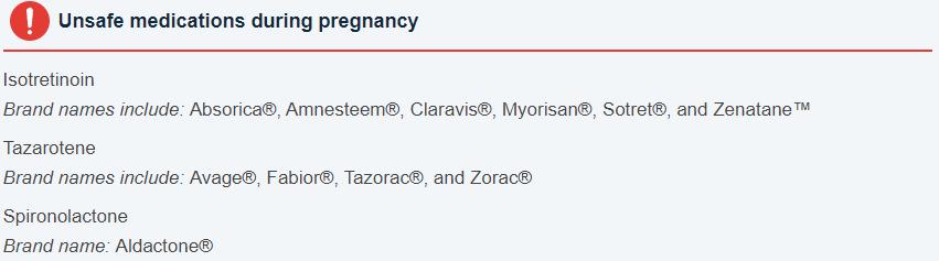Pregnancy Skincare