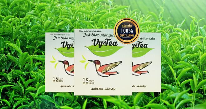 Trà vy&tea sử dụng 100% nguyên liệu từ tự nhiên