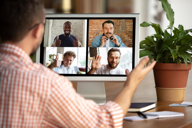 É essencial proporcionar ferramentas de comunicação para o home office (Imagem: Master 1305/Freepik)