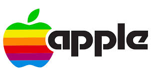 Apple's rainbow Apple logo