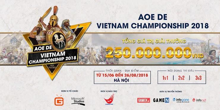 Age Of Empires: Definitive Edition   Vietnam Championship 2018