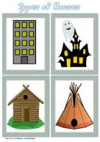 Image result for flashcards houses
