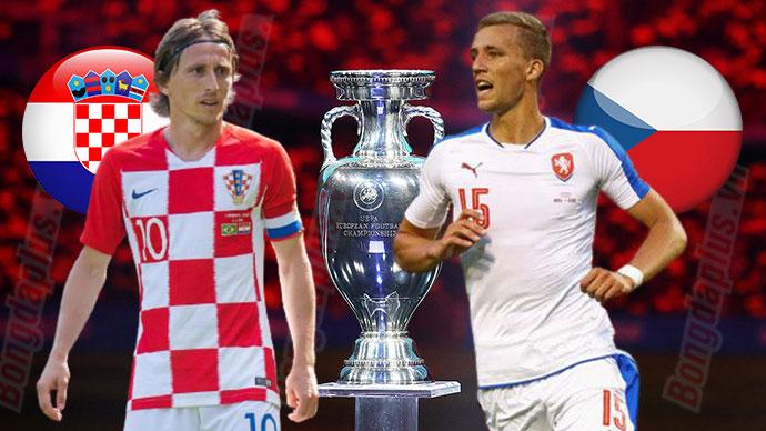 Lịch xem trực tiếp EURO 2020 ngày 18/06 đội tuyển Croatia - CH Czech (Bảng D)