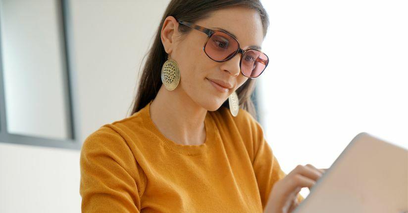 Brown Tinted Glasses