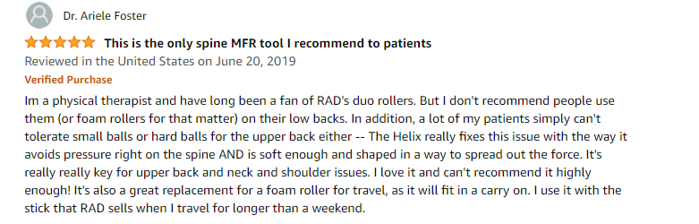Buyer's review of RAD Helix roller