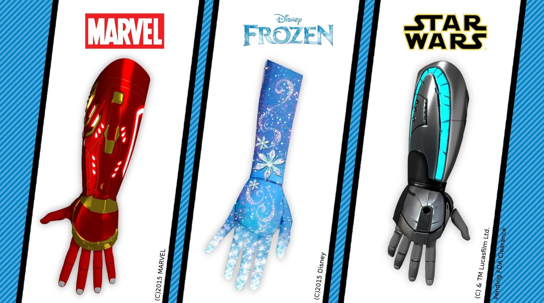 Marvel+Frozen+Star+Wars+Bionic+Hands