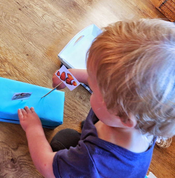 Ocean scene craft for Toddlers by Welcome to Mommyhood