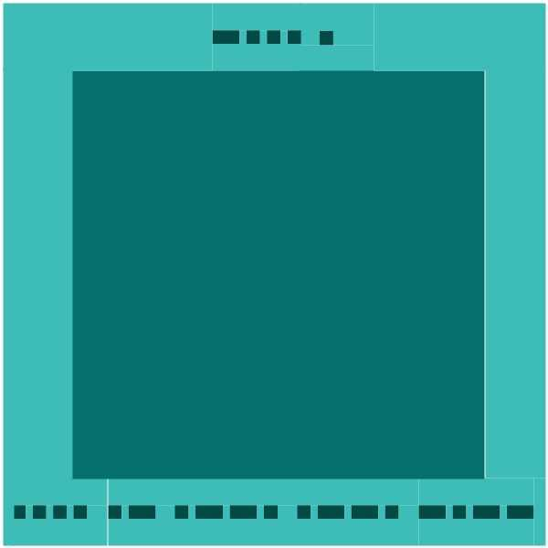 A blue rectangle with white text  Description automatically generated with low confidence