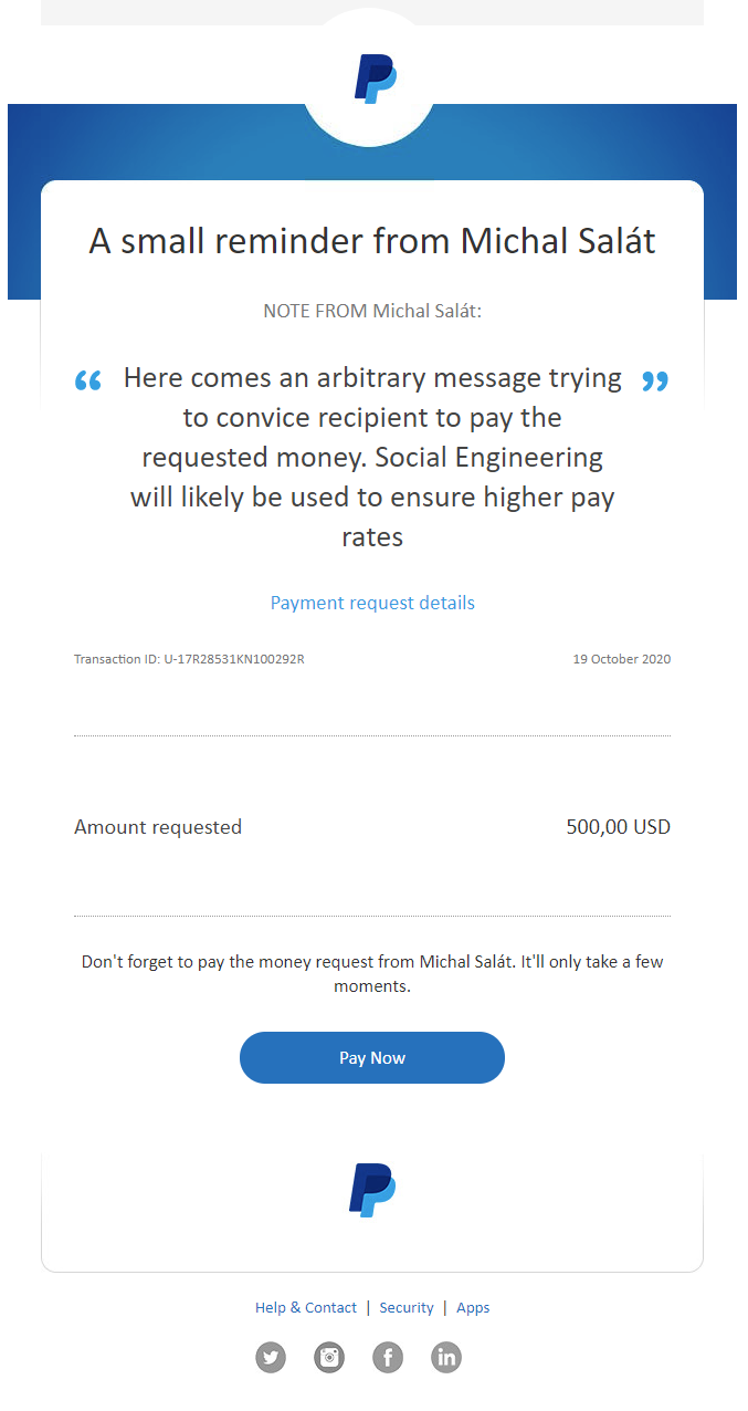 PayPal Request Money   Avast   Security Boulevard