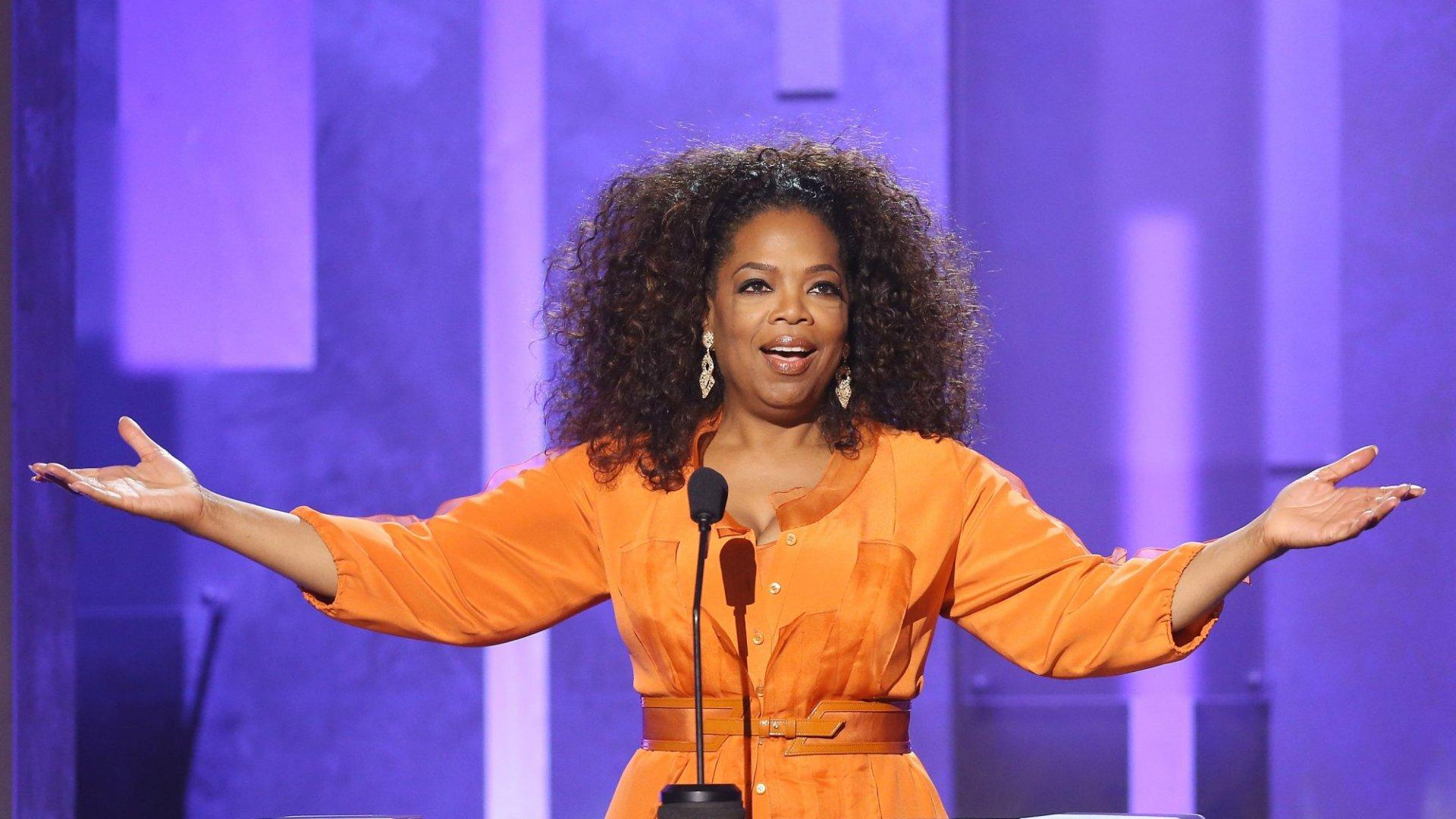 Oprah Winfrey Made $71 Million in a Single Day This Week. How Was Your  Monday? | Inc.com