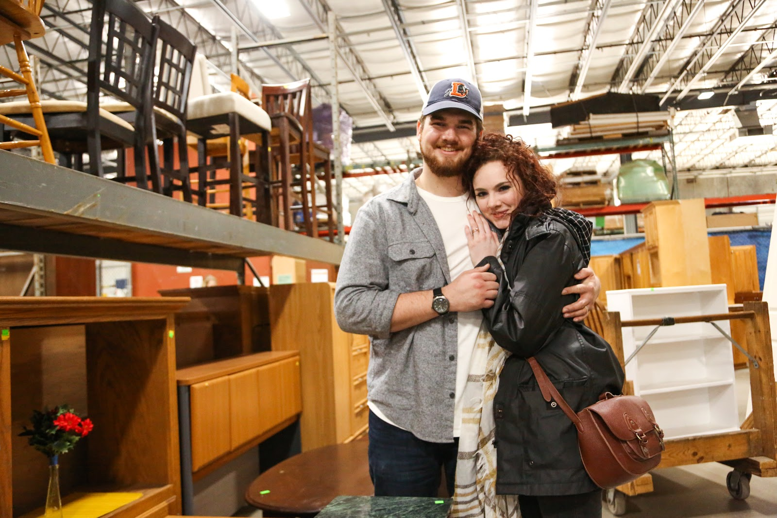 Couple at the ReStore