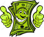 Image result for cartoon money