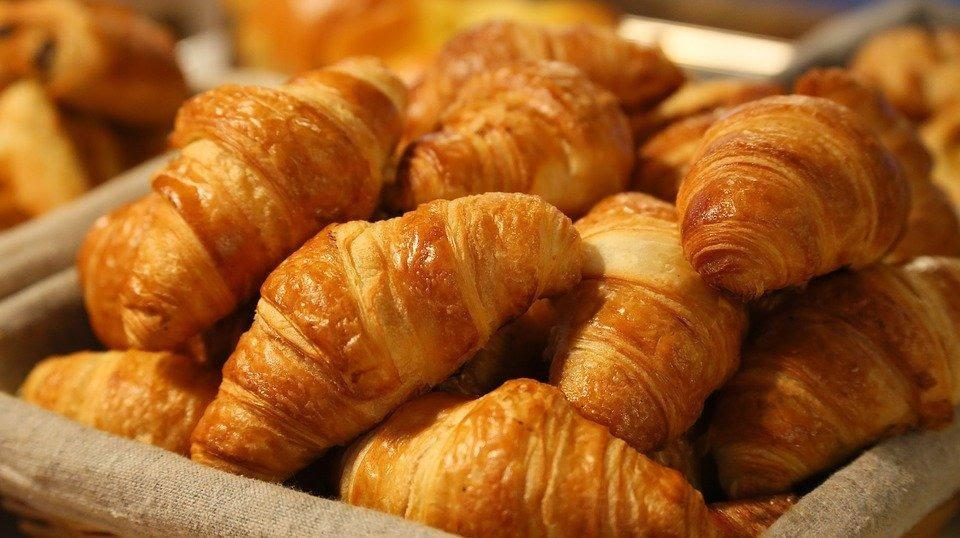 Bread, Croissant, Morning, Puff Paste, Puff Pastry