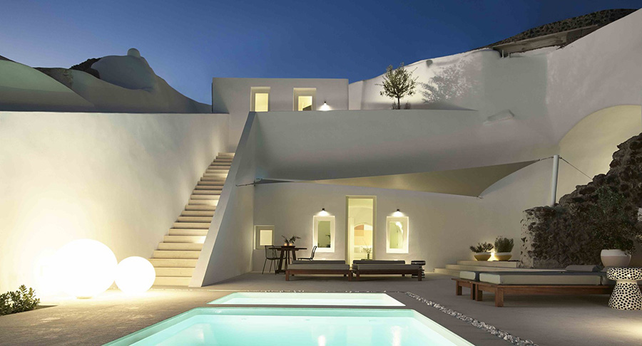 Summer Cave House