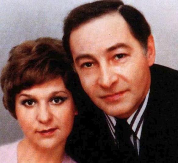 Актер со второй супругой Тамарой